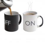 Kaffeetasse - On/Off Becher mit Farbwechsel - Geheimshop.de