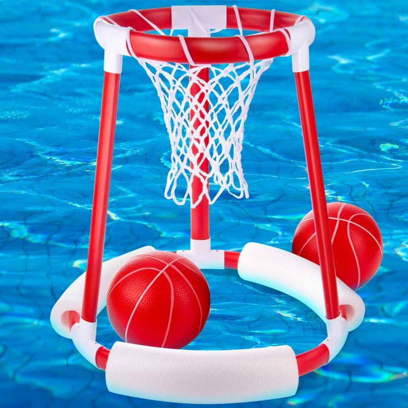 Floating Pool Basketball