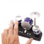 Mini Schlagzeug - Finger Schlagzeug Gadget - Geheimshop.de