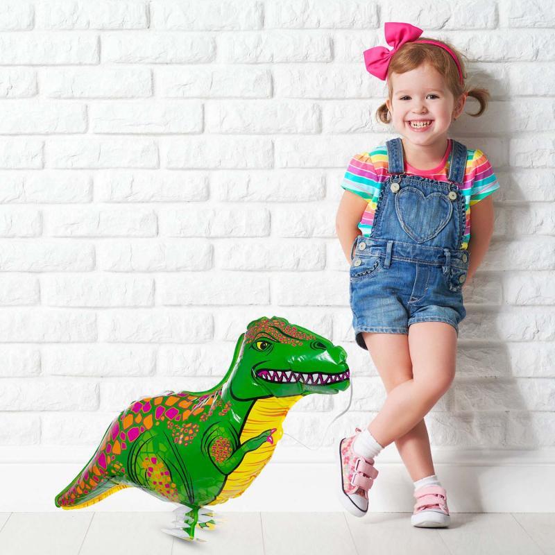 Dinosaurier Heliumballon zum Spazieren gehen