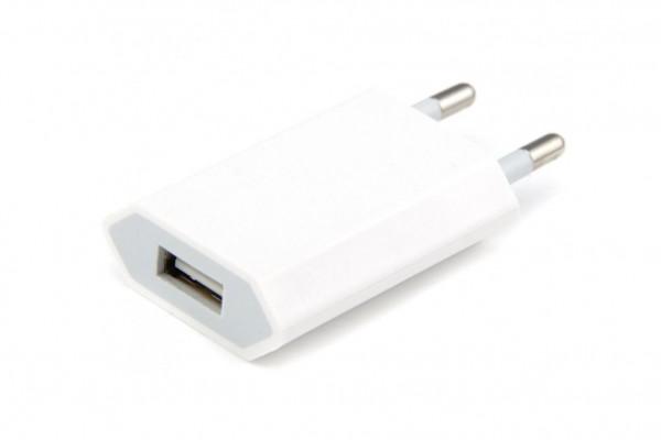 USB-Netzteil - PowerPlug Ladegerät mit USB - Geheimshop.de