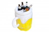 Bierkühler: aufblasbarer Flaschenkühler mit 14 Liter Fassung