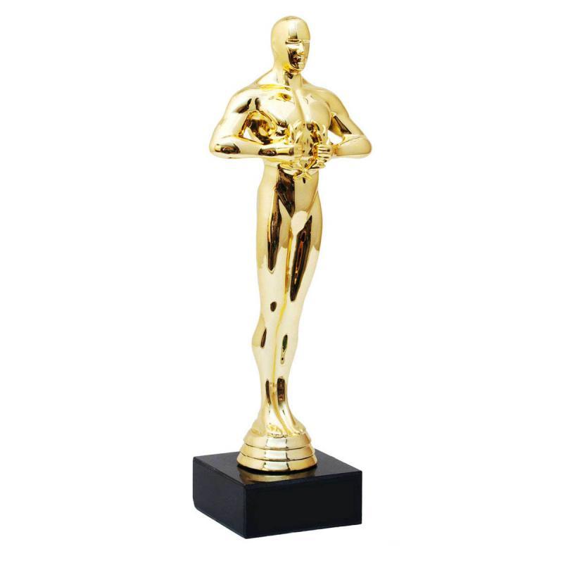 Siegerpokal Oscarstatue in Gold
