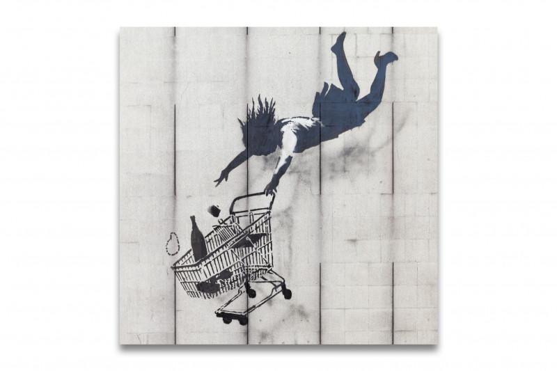 Banksy Shop till you drop Supermarket