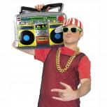 Aufblasbarer Ghettoblaster Große Boom Box Stereo-Anlage