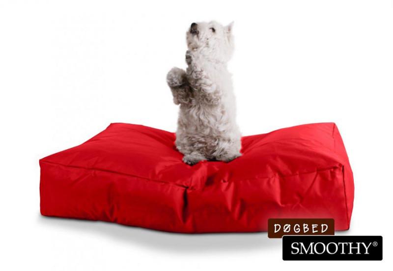Rotes Hundebett von Smoothy