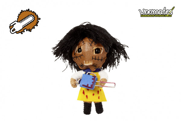 Voodoo Puppe Chainsaw Redneck Hinterwäldler Voomates Doll