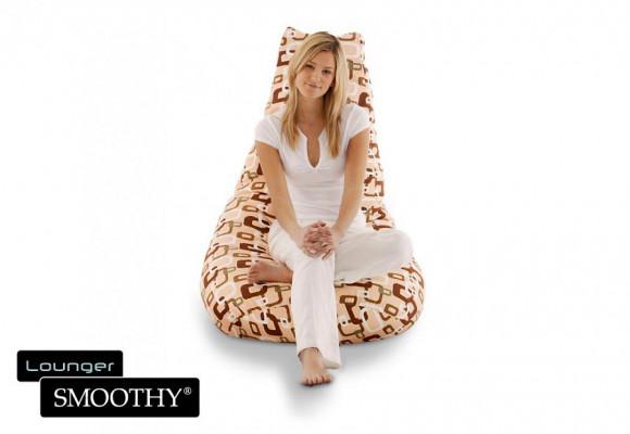 Smoothy Sitzsack Beany Lounge-Chair Choc