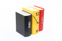 Buchuhr - originelle Bücheruhr Uhren