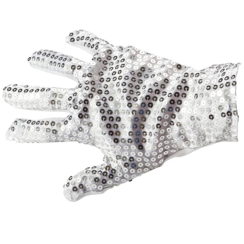 Pailetten Handschuh