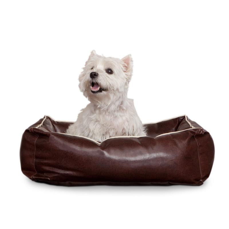 Leder Hundekorb von Smoothy