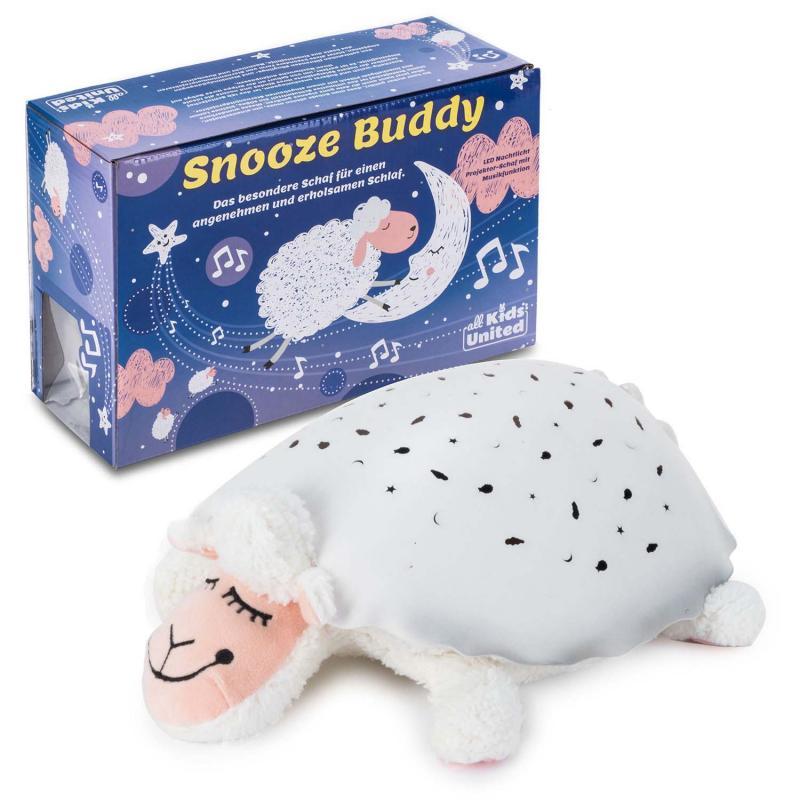 LED Nachtlicht für Kinder Schaf Snooze Buddy