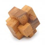 3D Puzzle - Knoten Knobelspiel aus Holz - Geheimshop.de