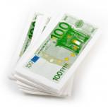 Taschentücher - bedruckte Papiertaschentücher - 100€-Schein