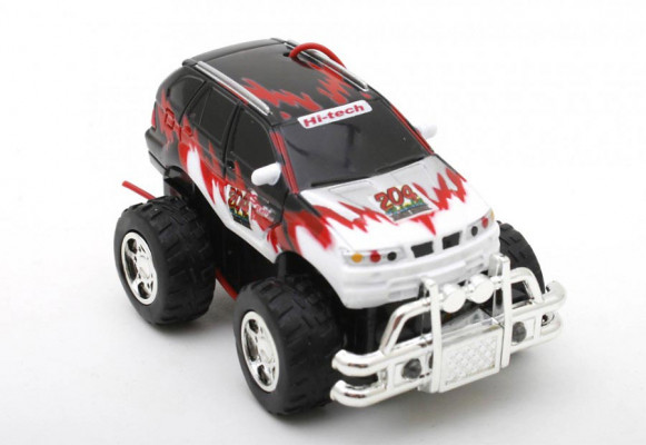 Mini RC Hummer: Micro Car Monster Truck Minicar Maßstab 1:64