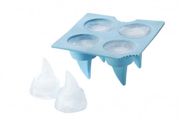 Haifisch Eiswürfel Hai Eiswürfelform Haifischflossen Form