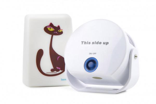 Katzenklingel - Cat Doorbell - die Haustürklingel für Katzen