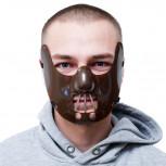 Maske -Hannibalmaske für Karneval & Halloween - Geheimshop.de