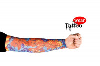 Tattoo Ärmel Tattoo Skin Sleeves #02 Flaming Fish