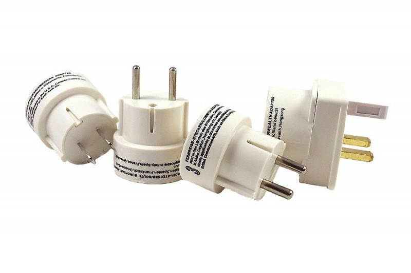 Steckdosen Adapter für die Reise