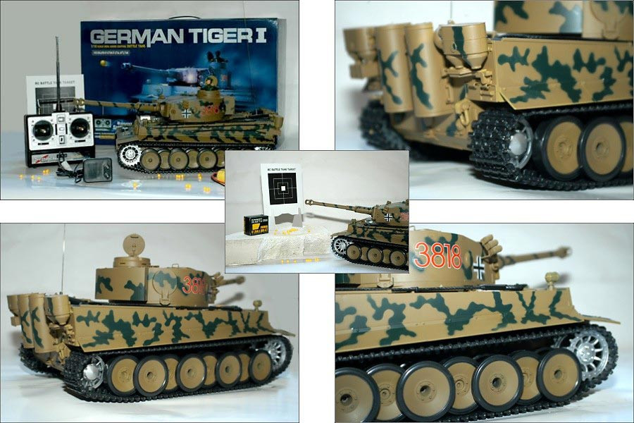 rc modellbau panzer tiger tank 1 16 modellbau mit vielen. Black Bedroom Furniture Sets. Home Design Ideas