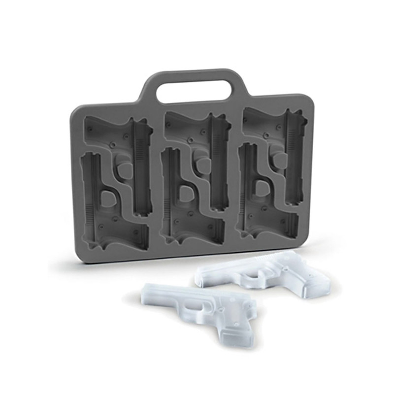 Eiswürfelform für Pistolen Eiswürfel