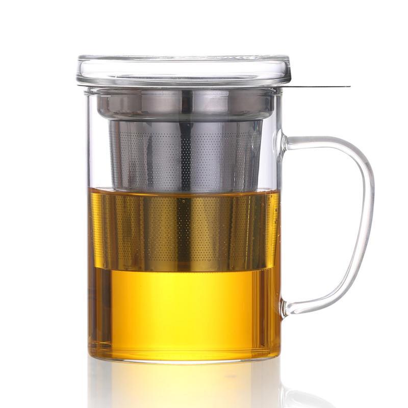 Teebereiter mit Sieb