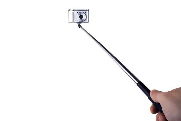 Mini-Handstativ: Ausziebhares Flexi Teleskop Stativ für Selfies