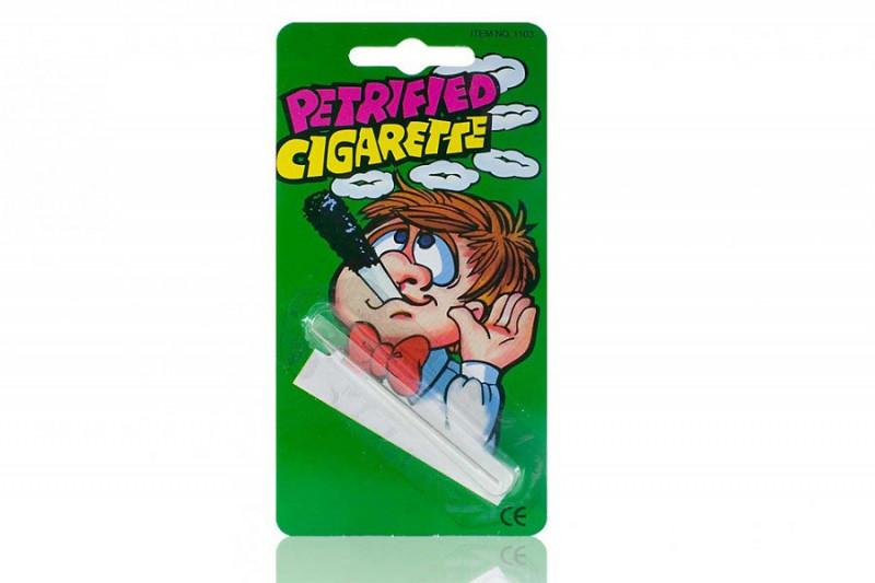 Falsche Fake Glimmstengel Versteinerte Zigarette