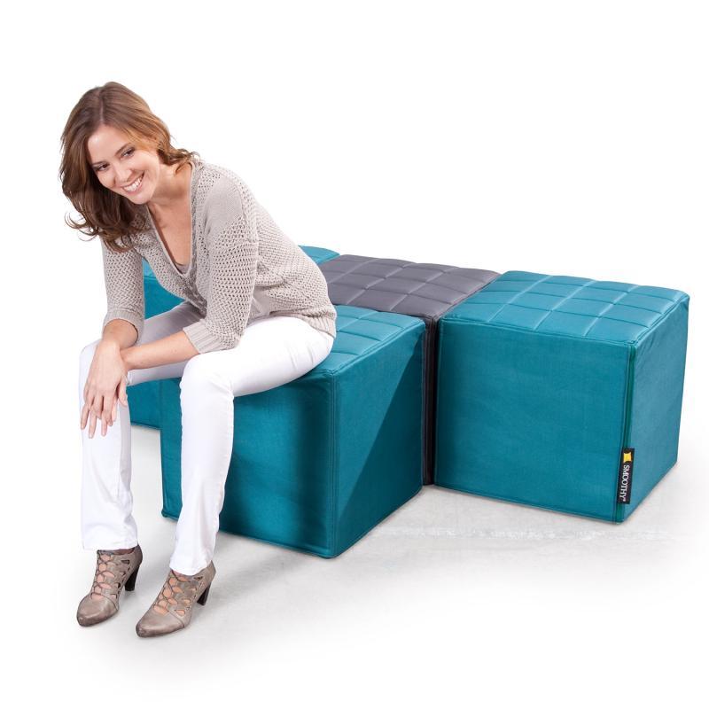 Cube Sitzwürfel Petrol