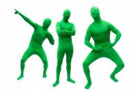 Green Man Morph Anzug Green Suit Ganzkörperanzug