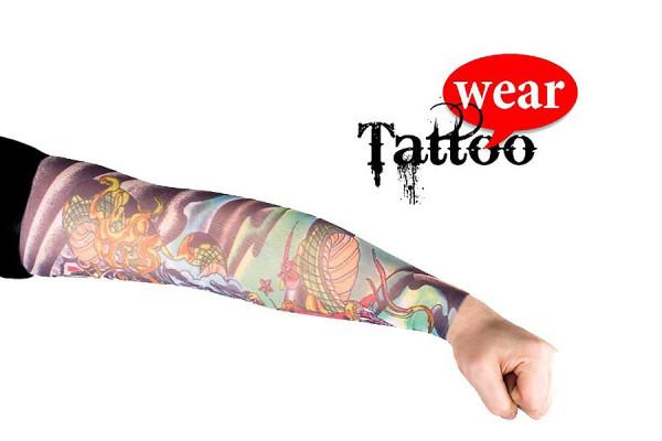 Tattoo Ärmel - Tattooärmel für Karneval & Party - Heavy Metal