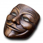 V for Vendetta Maske Bronze » Anonymous Mask » günstig kaufen!