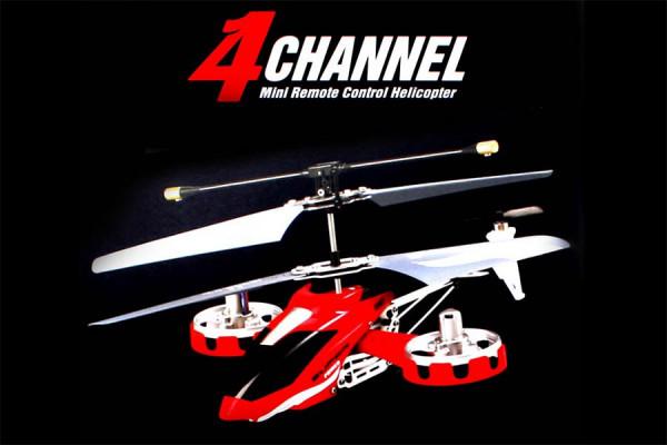 Infrarot Helikopter 4-Kanal – ferngesteuerter Hubschrauber
