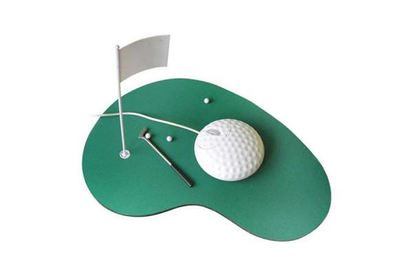 Optische 3D Maus im Golf-Design – Zuhause auf dem Platz
