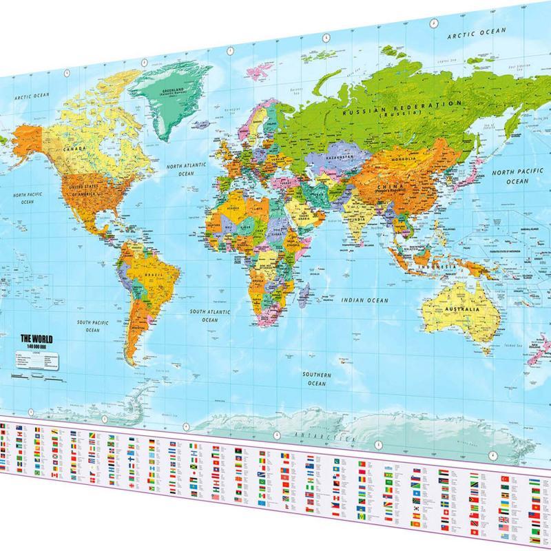 Weltkarte XXL Poster
