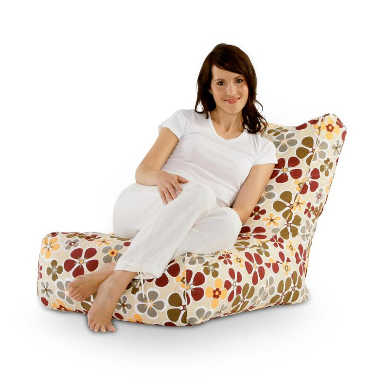 Sitzsack Lounge Chair flower