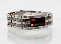 Binäruhr digitale Binäre LED Armbanduhr