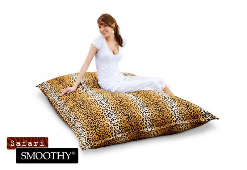 Smoothy Sitzsack Safari Leopard