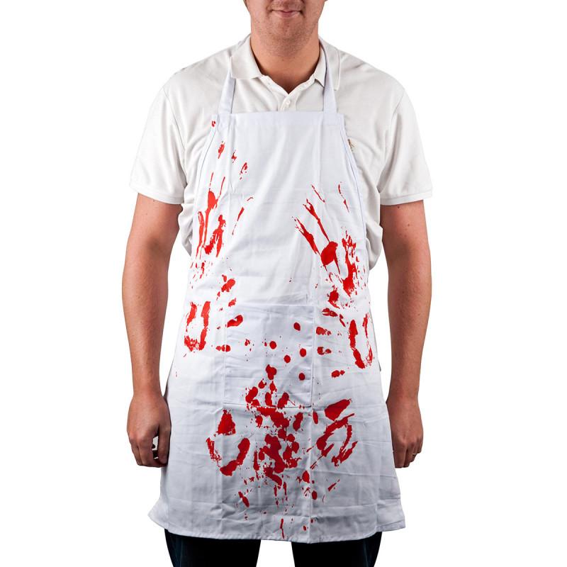 Blut Schürze