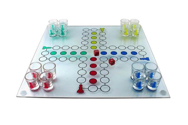 Ludo Trinkspiel - Partyspiel ärgere dich nicht sondern trink