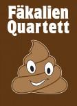 Fäkalien Quartett Kartenspiel für Menschen mit Humor!