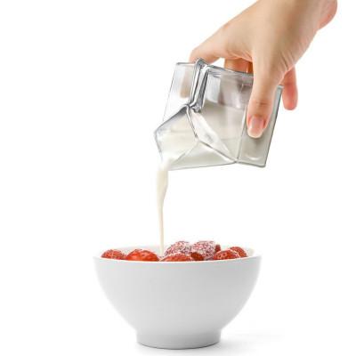 Half Pint Milchkanne - Milchkarton aus Glas - Geheimshop.de