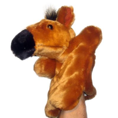 Handpuppe - Handspielpuppe aus Plüsch - Pferd Pony