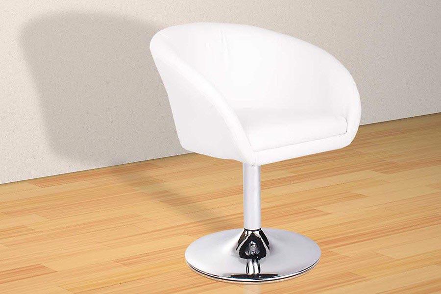 Loungesessel weiß  Lounge Sessel aus Kunstleder - Vanity in Schwarz