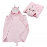 Kapuzenhandtuch - Baby Handtuch mit Kapuze - Einhorn