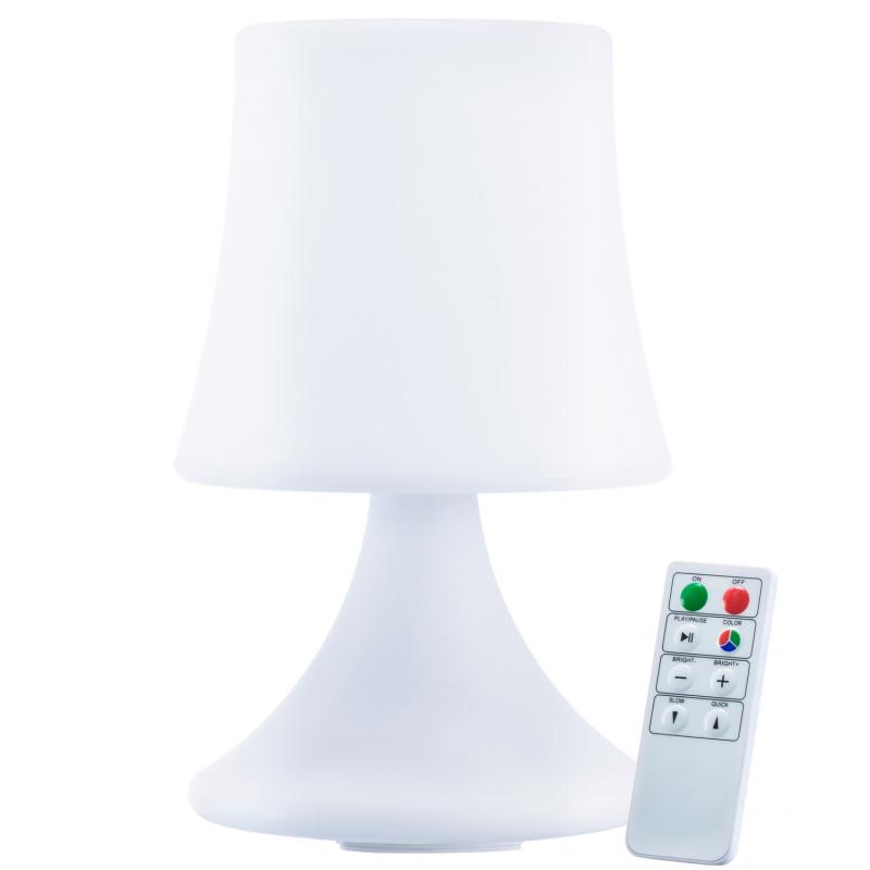 LED Lampe mit Fernbedienung und Akku