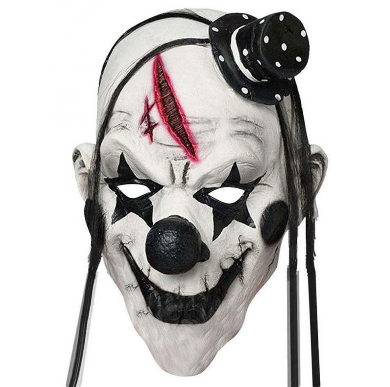 Scary Clown Maske Clownmaske