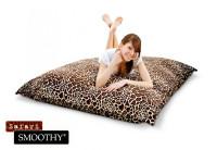 Smoothy Sitzsack Safari Edition Samtbezug Giraffe