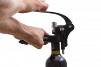 Profi Hebel Korkenzieher – mühelos Weinflaschen öffnen